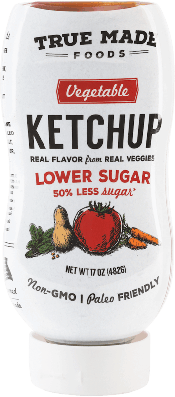 $1.25 for True Made Foods® Low Sugar Ketchup (expiring on Saturday, 04/11/2020). Offer available at Walmart, Stop & Shop, Wegmans, Walmart Grocery.