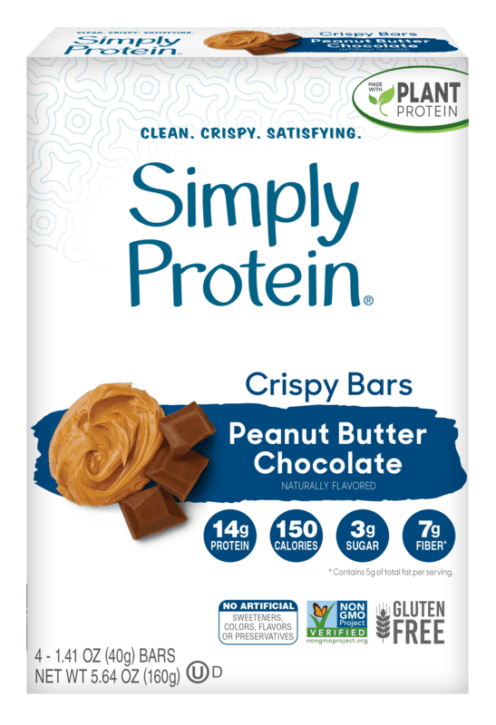 $1.50 for SimplyProtein Crispy or Baked Bars (expiring on Sunday, 08/02/2020). Offer available at multiple stores.