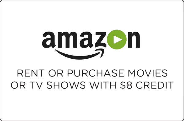 $0.00 for $8 Amazon Video Credit (expiring on Friday, 08/31/2018). Offer available at Amazon.