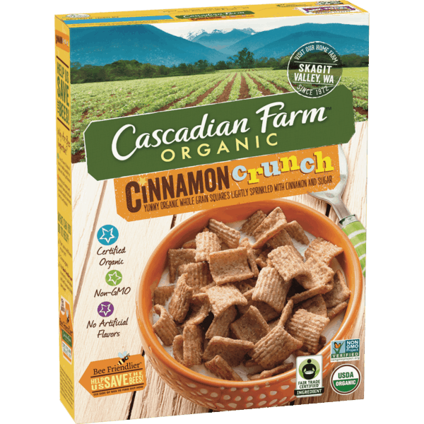 $1.00 for Cascadian Farm™ Organic Cereal (expiring on Tuesday, 04/02/2019). Offer available at Publix.