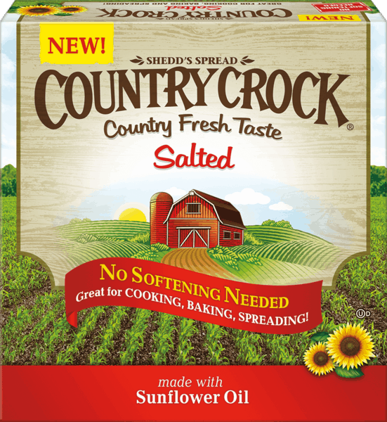 $0.50 for Country Crock® Buttery Sticks (expiring on Tuesday, 05/01/2018). Offer available at Walmart.