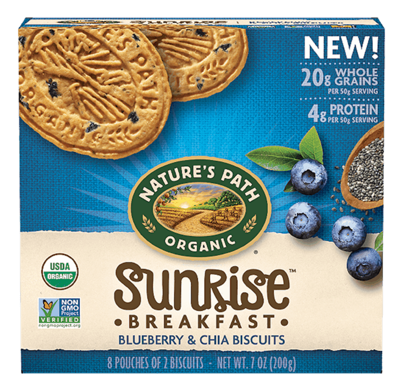 $1.00 for Nature's Path Breakfast Biscuits (expiring on Monday, 06/22/2020). Offer available at Walmart.