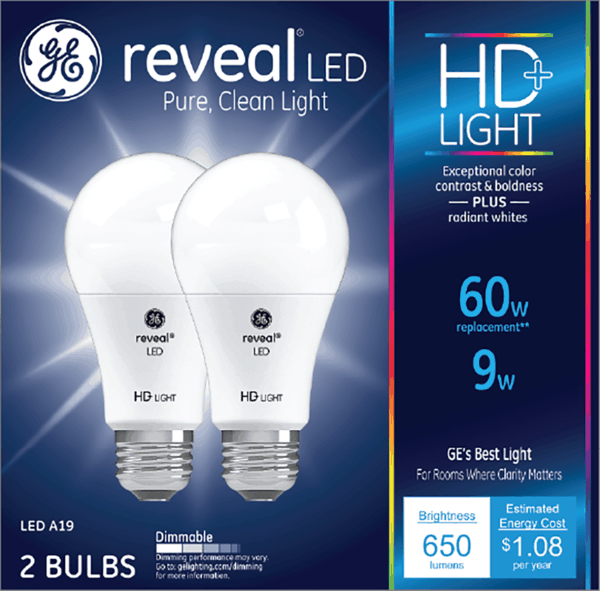 $1.00 for GE LED Light Bulbs (expiring on Friday, 08/10/2018). Offer available at multiple stores.