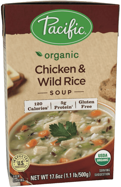 $1.00 for Pacific Foods™ Hearty Soup or Condensed Soup (expiring on Tuesday, 07/31/2018). Offer available at multiple stores.