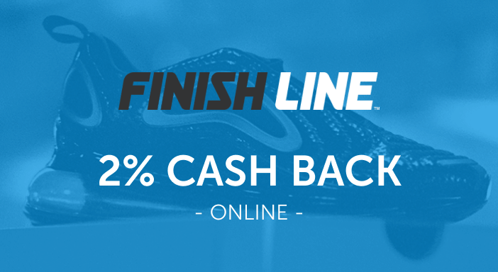 $0.00 for Finish Line (expiring on Tuesday, 09/30/2025). Offer available at Finish Line.