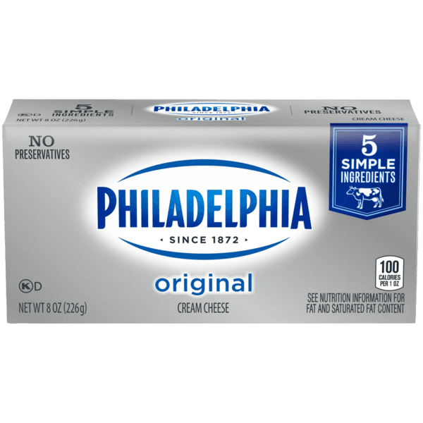 $1.00 for PHILADELPHIA Original Cream Cheese. Offer available at multiple stores.