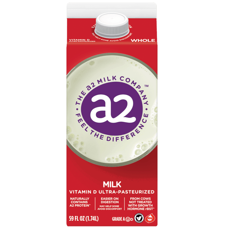 $0.50 for a2 Milk (expiring on Thursday, 07/02/2020). Offer available at multiple stores.