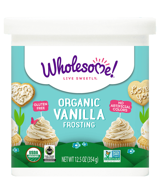 $1.00 for Wholesome!® Organic Frosting (expiring on Sunday, 12/31/2017). Offer available at multiple stores.