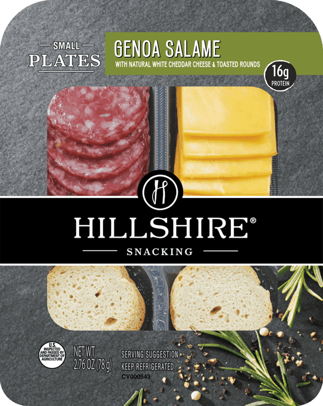 $0.55 for Hillshire® Snacking Small Plates (expiring on Tuesday, 09/03/2019). Offer available at Military Commissary.