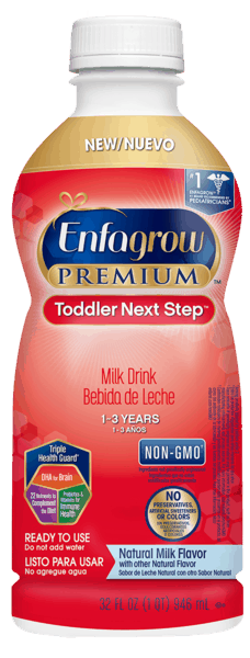 $1.50 for Enfagrow® PREMIUM Next Step™ Ready To Use Toddler Milk Drink. Offer available at Walmart.