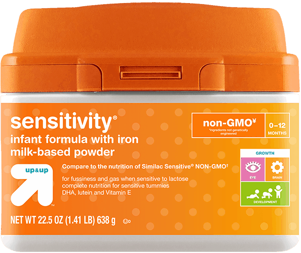 $4.00 for Up & Up™ Sensitivity® Formula (expiring on Saturday, 06/02/2018). Offer available at Target.