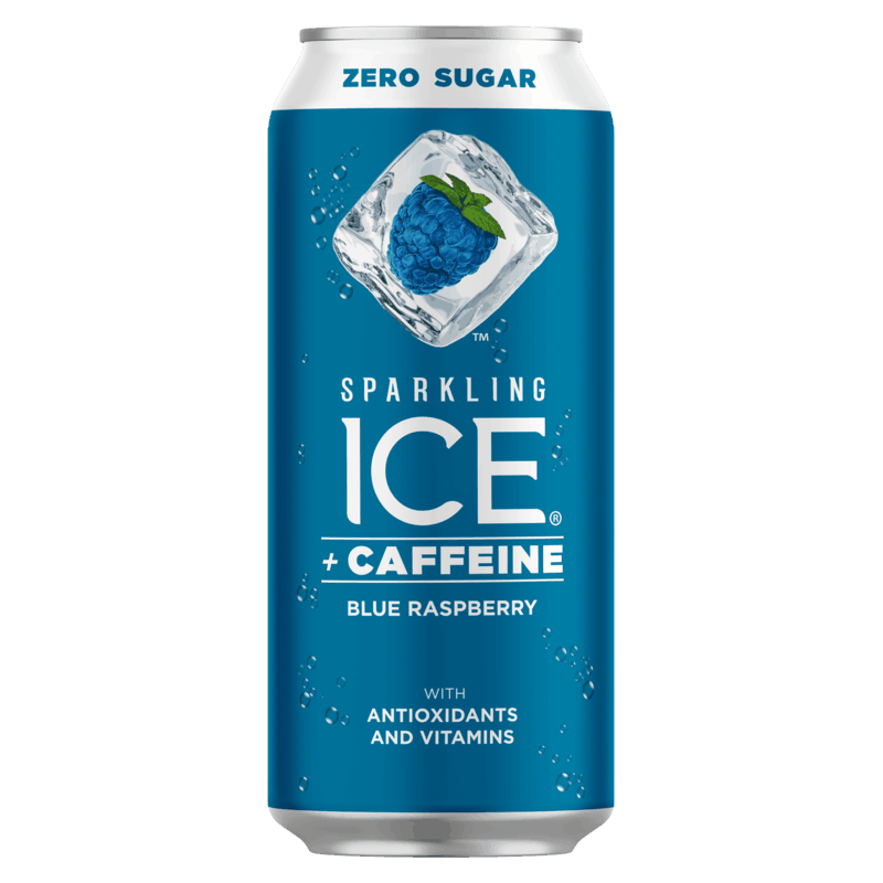 $0.50 for Sparkling Ice + Caffeine Sparkling Water. Offer available at multiple stores.