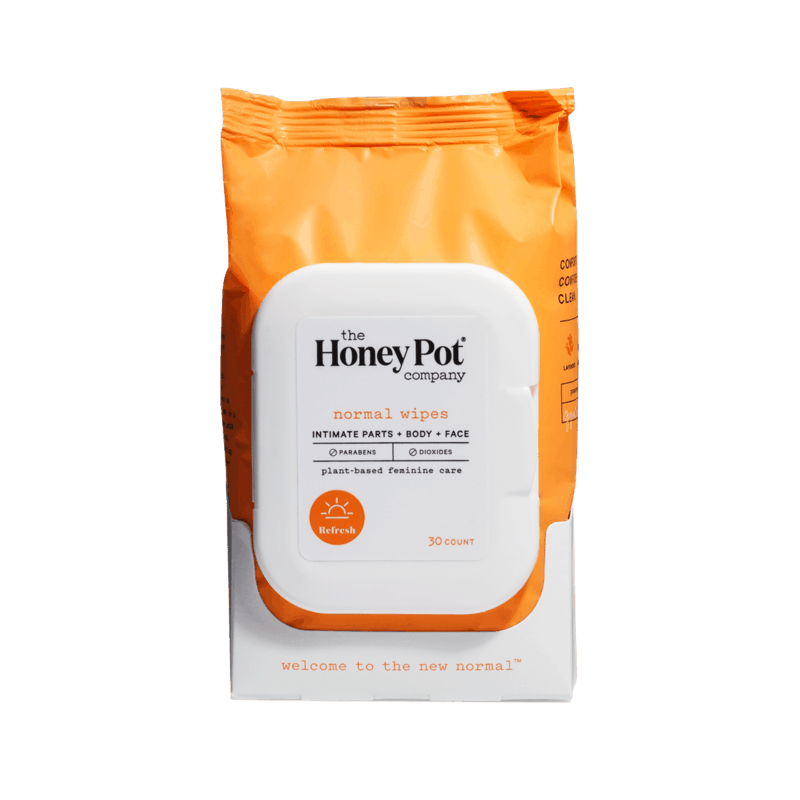 $1.00 for The Honey Pot Co. Wipes (expiring on Monday, 12/28/2020). Offer available at Meijer.