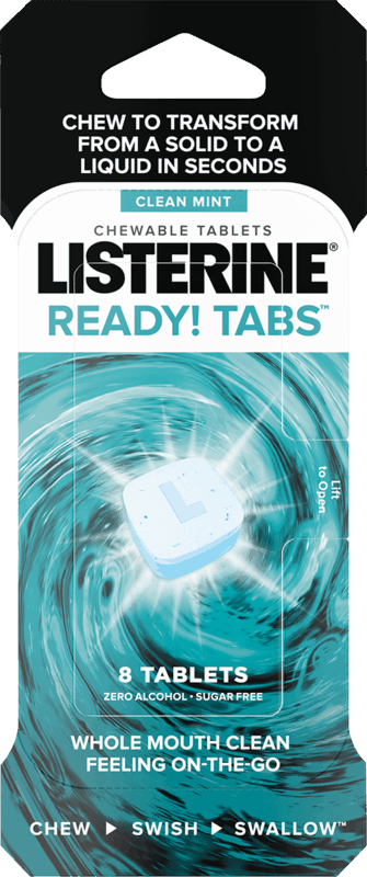 $1.00 for Listerine READY! TABS Chewable Tablets. Offer available at multiple stores.