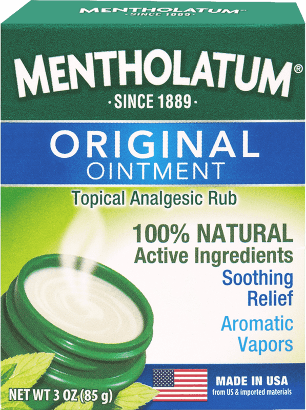 $1.00 for Mentholatum Original Vaporizing Chest Rub (expiring on Sunday, 03/01/2020). Offer available at multiple stores.