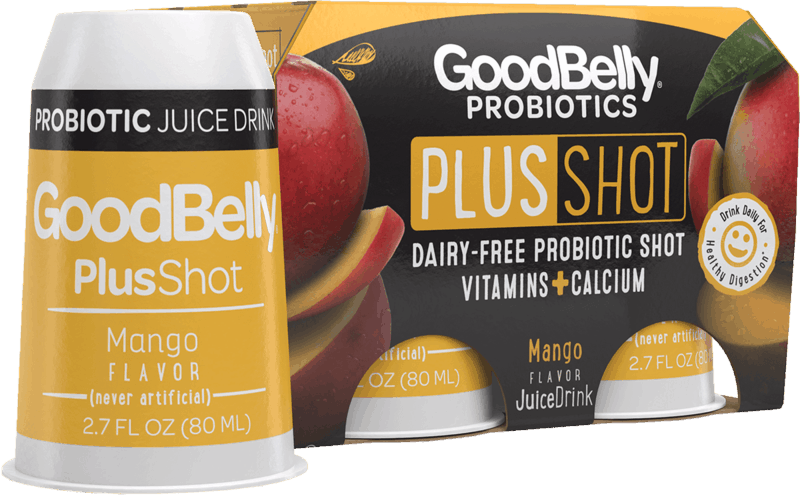 $0.50 for GoodBelly® Probiotics PlusShot (expiring on Wednesday, 10/02/2019). Offer available at multiple stores.
