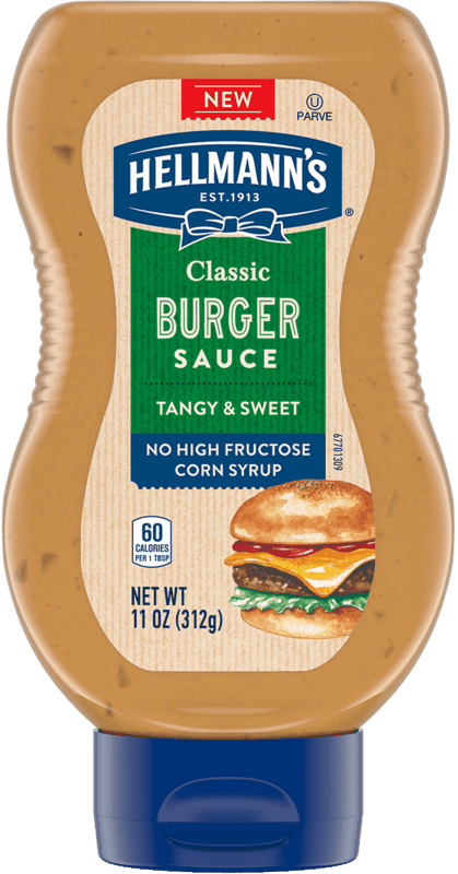 $1.50 for Hellmann's® Classic Burger Sauce. Offer available at multiple stores.