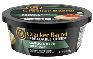 $1.00 for Cracker Barrel Spreadable Cheese (expiring on Saturday, 10/31/2020). Offer available at multiple stores.