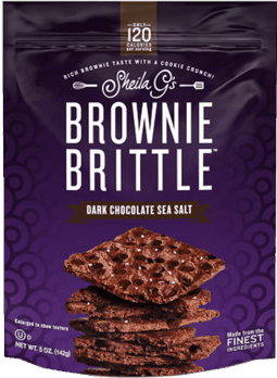 $1.00 for Brownie Brittle™ Dark Chocolate Sea Salt (expiring on Monday, 04/02/2018). Offer available at multiple stores.