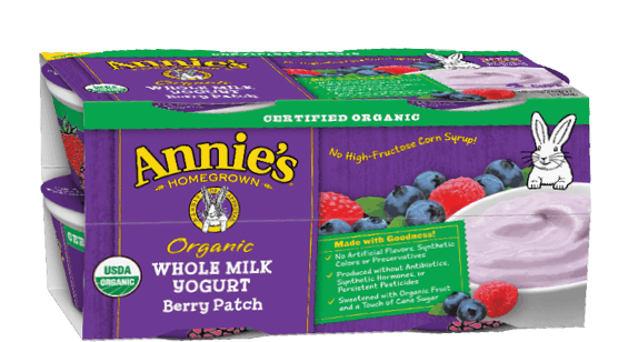 $1.00 for Annie's® Yogurt (expiring on Wednesday, 05/31/2017). Offer available at Publix.