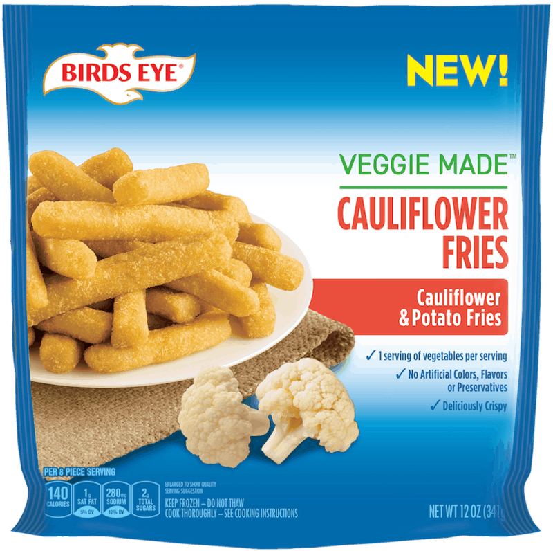 $1.00 for BIRDS EYE® Veggie Made™ Fries (expiring on Friday, 07/31/2020). Offer available at Walmart, Walmart Grocery.