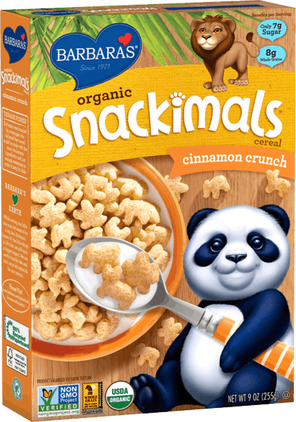 $1.00 for Barbara's® Snackimals Cereal (expiring on Sunday, 06/02/2019). Offer available at multiple stores.