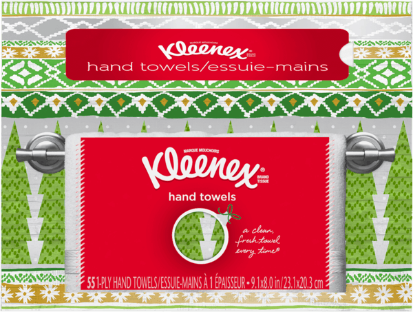 $1.00 for Kleenex® Hand Towels (expiring on Monday, 07/02/2018). Offer available at Walmart.