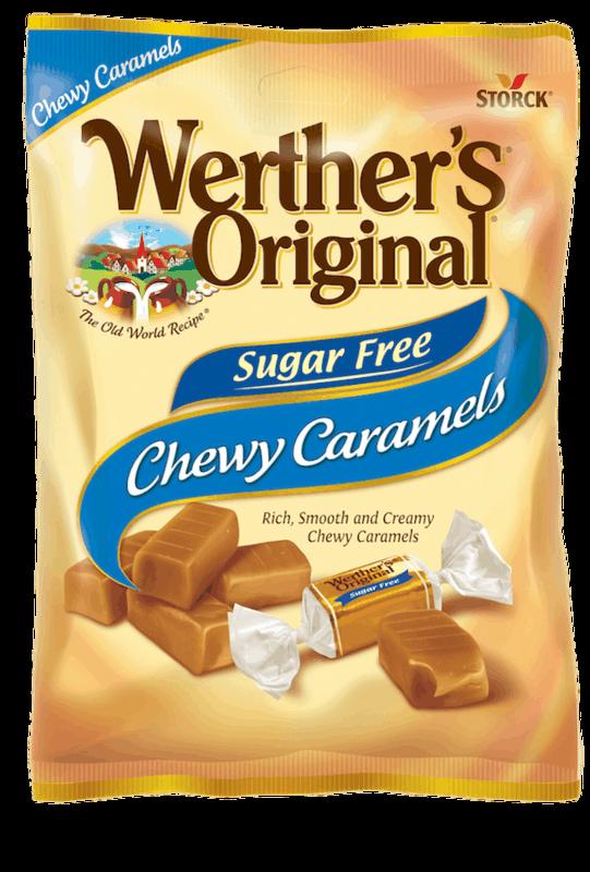 $0.75 for Werther's Original Sugar Free Caramels (expiring on Thursday, 12/31/2020). Offer available at Target, [TEST] Target.com.