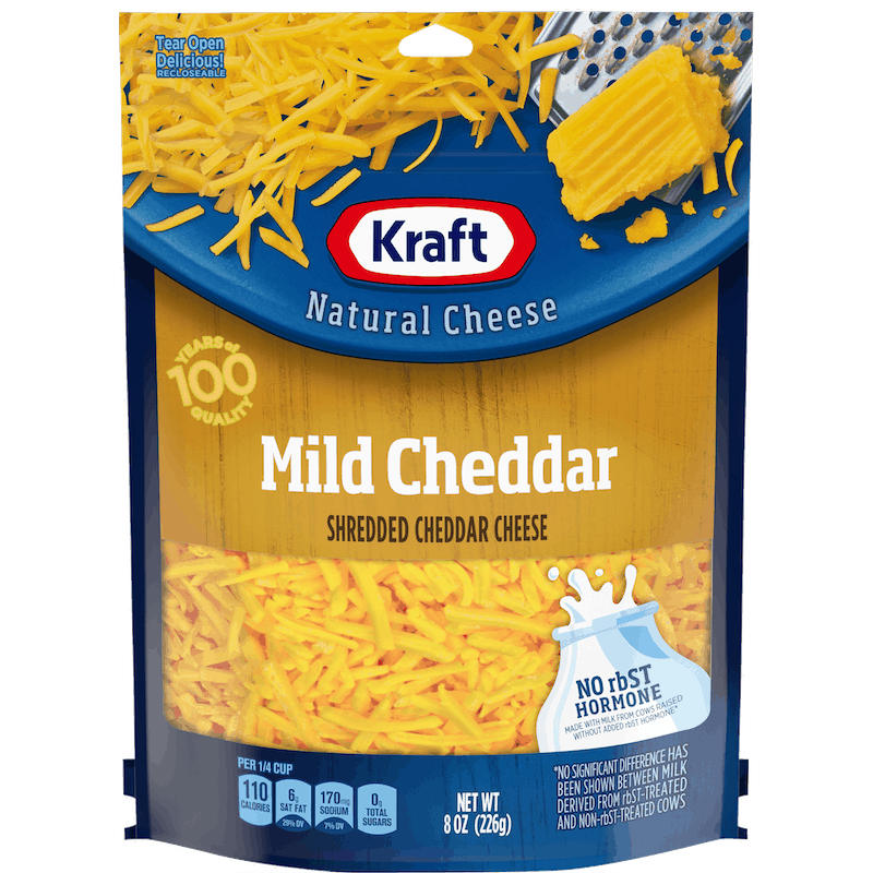 $0.25 for Kraft Shredded Cheese (expiring on Monday, 02/10/2020). Offer available at multiple stores.