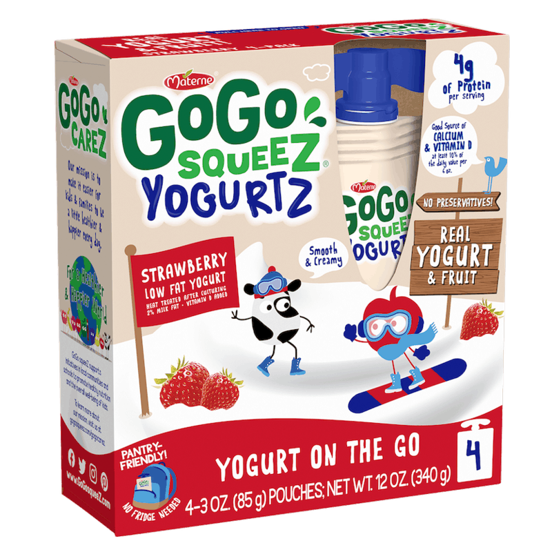 $0.75 for GoGo squeeZ® yogurtZ (expiring on Wednesday, 12/23/2020). Offer available at multiple stores.