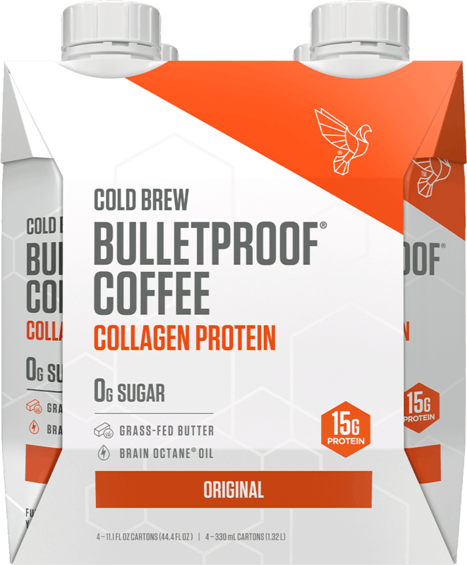 $3.00 for Bulletproof Coffee Cold Brew with Collagen (expiring on Tuesday, 03/31/2020). Offer available at Target.