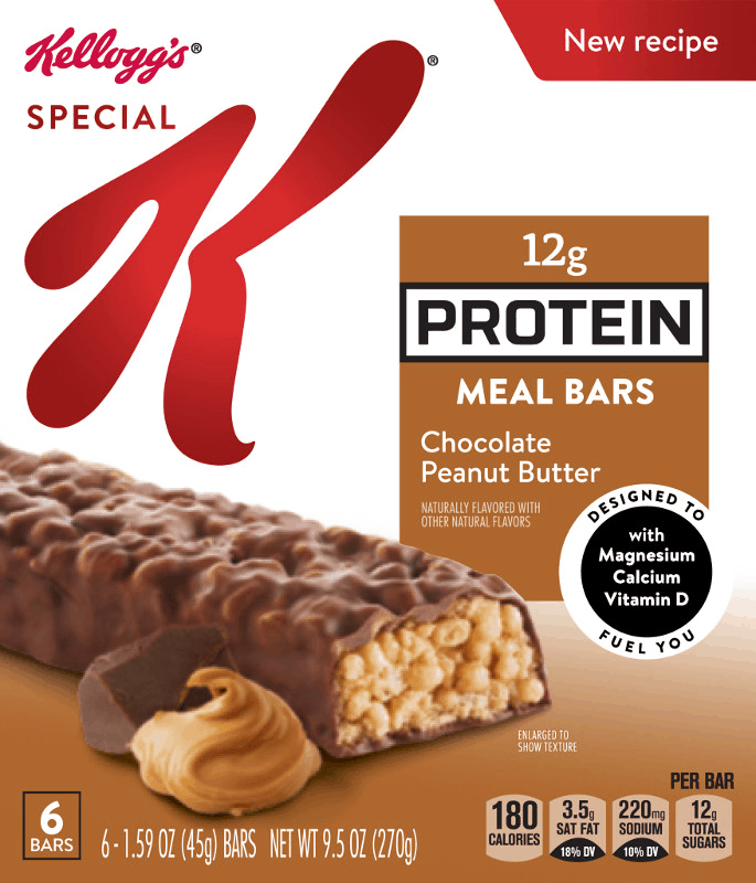 $1.00 for Special K®Protein Meal Bars (expiring on Monday, 03/02/2020). Offer available at multiple stores.