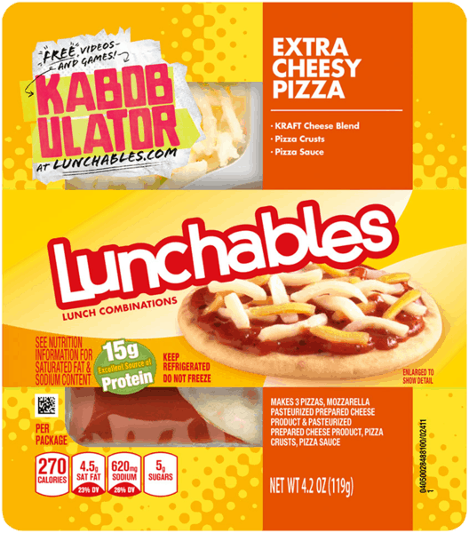 $0.50 for Oscar Mayer® Lunchables (expiring on Friday, 11/16/2018). Offer available at Walmart.