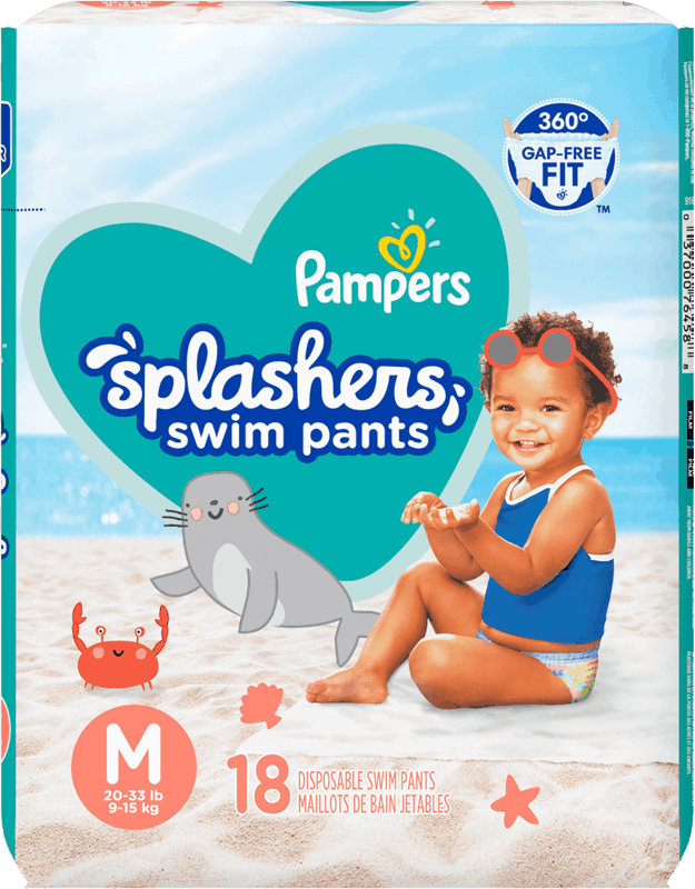 $2.00 for Pampers Splashers Diapers (expiring on Wednesday, 08/25/2021). Offer available at Walmart, Market Basket (New England), Walmart Pickup & Delivery.