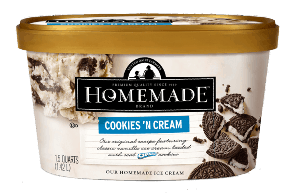 $1.75 for United Dairy Farmers Ice Cream (expiring on Friday, 03/02/2018). Offer available at Walmart, Kroger, Meijer, Remke Markets, Marsh.