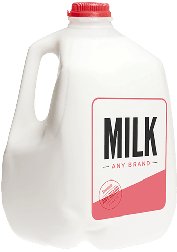 $0.25 for White Milk - Any Brand (expiring on Monday, 12/31/2018). Offer available at multiple stores.