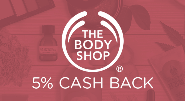 $0.00 for The Body Shop (expiring on Friday, 01/31/2020). Offer available at The Body Shop.