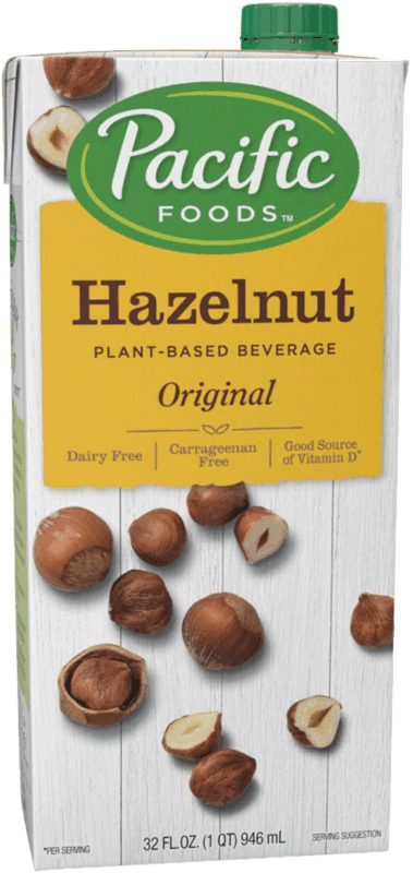 $1.00 for Pacific Foods™ Hazelnut Plant-Based Beverage (expiring on Tuesday, 02/11/2020). Offer available at multiple stores.