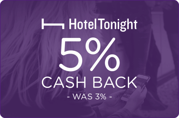 $0.00 for HotelTonight (expiring on Thursday, 10/12/2017). Offer available at HotelTonight.