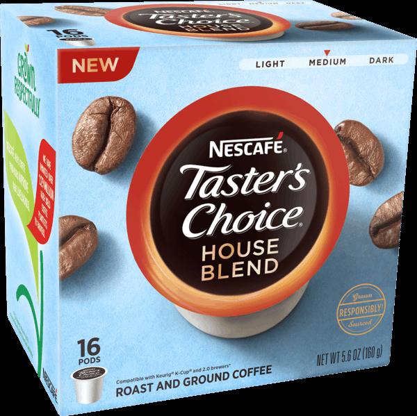 $3.50 for NESCAFÉ® Taster's Choice™ or NESCAFÉ® Clásico™  Coffee Pods (expiring on Monday, 04/01/2019). Offer available at Walmart.