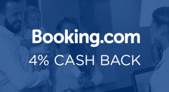 Cash back booking com