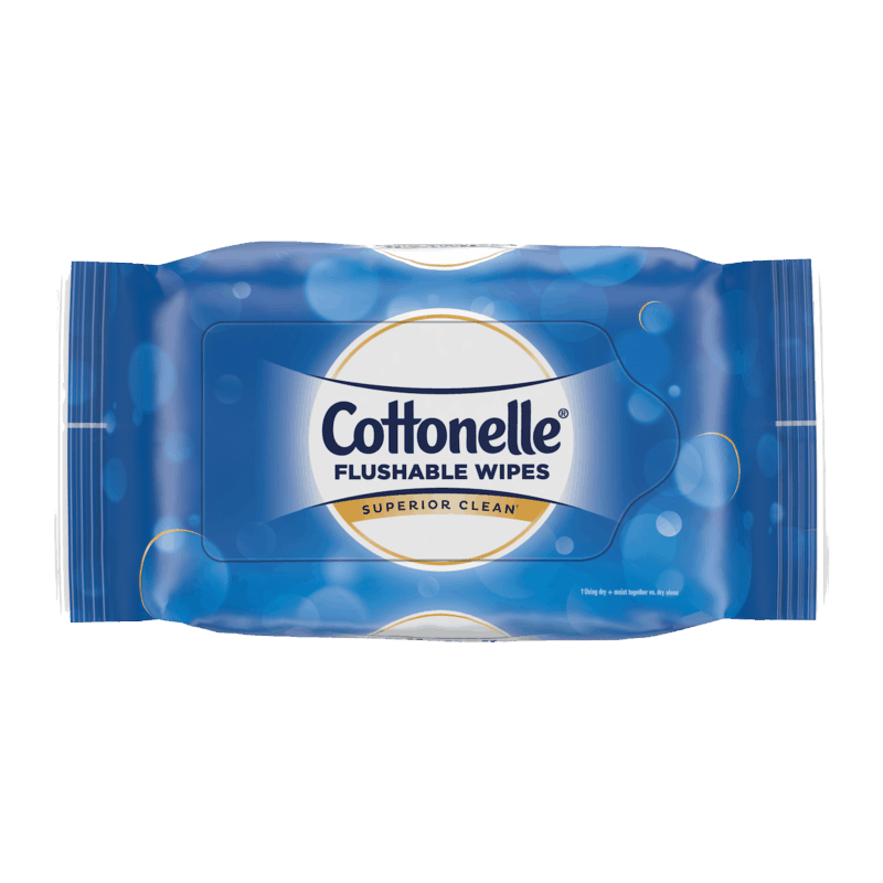 $0.50 for Cottonelle Flushable Wipes (expiring on Sunday, 08/02/2020). Offer available at multiple stores.
