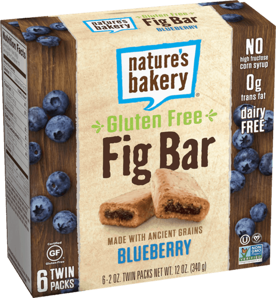 $0.75 for Nature's Bakery Gluten Free Fig Bars (expiring on Tuesday, 04/02/2019). Offer available at multiple stores.