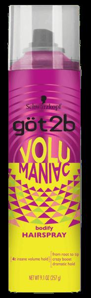 $1.00 for göt2b®  Volumaniac™ Hair Products (expiring on Sunday, 12/03/2017). Offer available at Walmart.