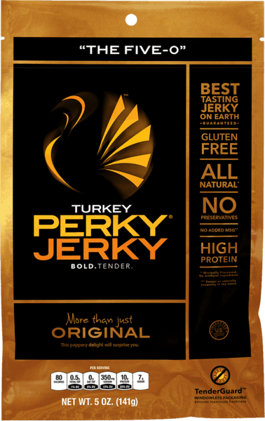 $0.50 for Turkey Perky Jerky® (expiring on Friday, 03/02/2018). Offer available at multiple stores.