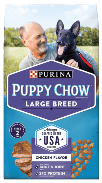 $1.00 for PURINA® Puppy Chow® (expiring on Saturday, 06/02/2018). Offer available at multiple stores.