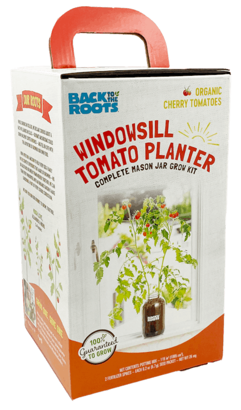 $10.00 for Back to the Roots Windowsill Tomato Planter (expiring on Friday, 04/24/2020). Offer available at Walmart, Walmart Grocery.