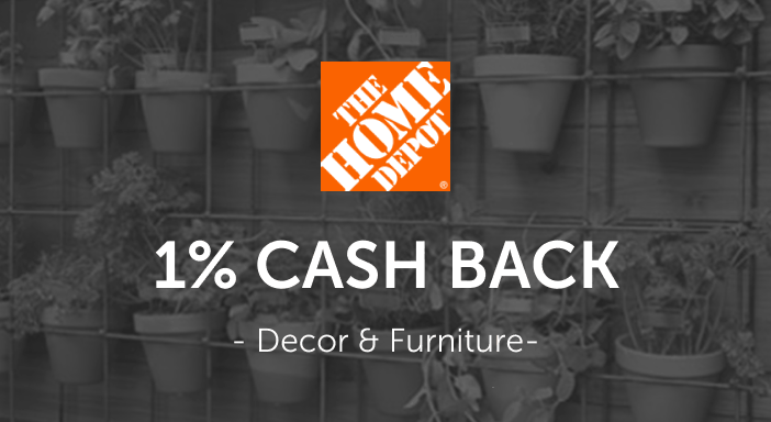 $0.00 for Home Depot Home Decor & Furniture (expiring on Thursday, 03/31/2022). Offer available at HomeDepot.com.