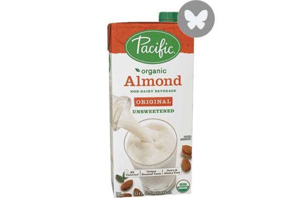 $0.50 for Pacific Foods™ Almond, Hazelnut, Rice or Soy Non-Dairy Beverage (expiring on Wednesday, 05/02/2018). Offer available at multiple stores.