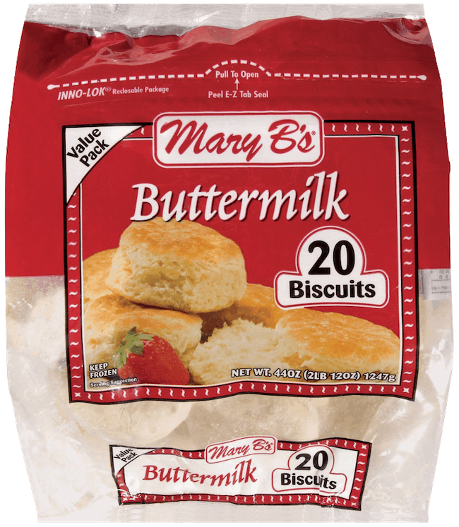 $0.50 for Mary B's Biscuits & Dumplings (expiring on Friday, 05/08/2020). Offer available at multiple stores.